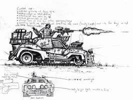Combat Car by TickTockMan92