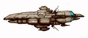 Bigger, Crazier Spaceship by TickTockMan92