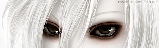 Eyes of light by Mezamero