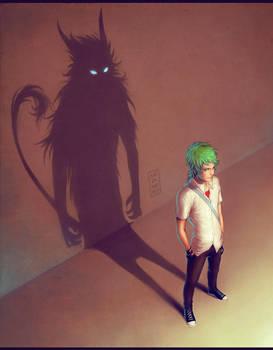 Not a monster by Mezamero