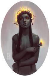 Little flower by Mezamero