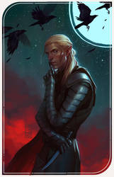 Zevran (moon) by Mezamero