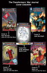 WAR JOURNAL COVERS by Transformers-Mosaic