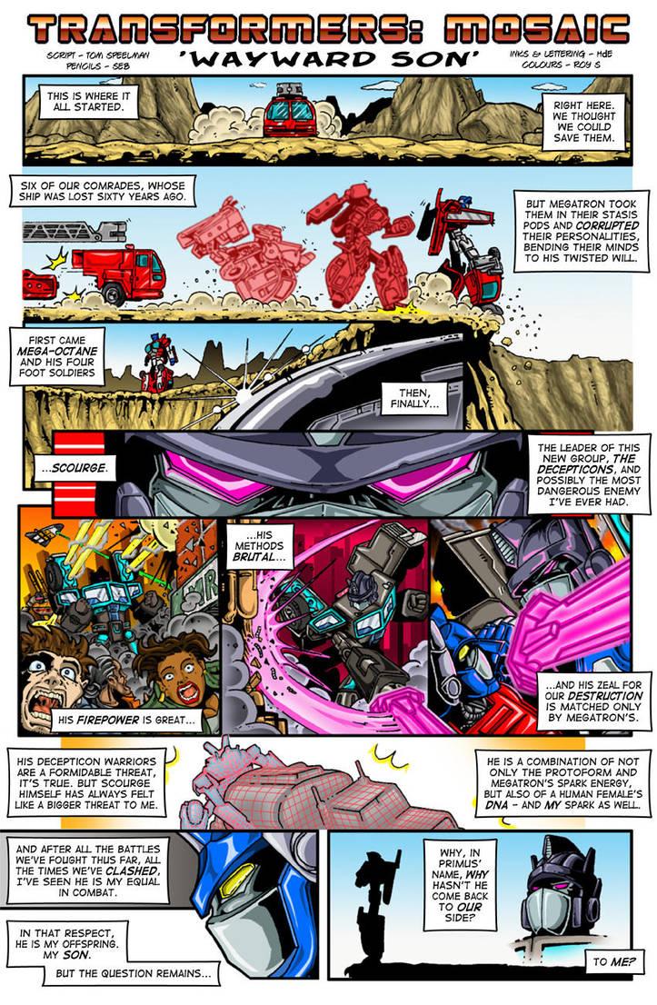 Wayward Son by Transformers-Mosaic