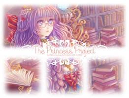 The Princess Project   Library Princess :Preview: by xelalanana