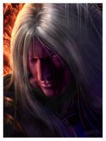 Dark elf by Kseronarogu