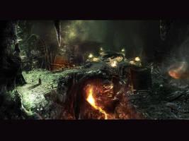 Necrovision 'dragonlair' by Kseronarogu