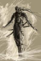ninja by Kseronarogu