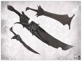 Demons Blade concept by Kseronarogu