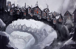Bridgetown - invierno by 47ness