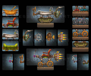 Junkyard Derby - Components by 47ness
