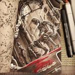 Steampunk Inktober - Day 30 by 47ness
