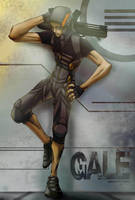 UFC3:Video Games - Gale by HNDRNT26