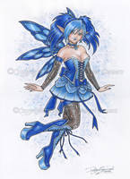 Royal Blue by delphineart