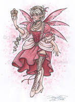 Charlotte the Queen Fairy by delphineart