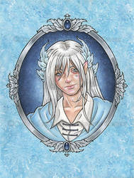Prince Sapphire by delphineart