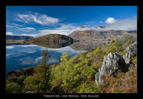 Parkins Bay, Lake Wanaka, NZ by eehan