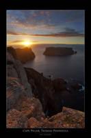 Sunrise Over Cape Pillar II by eehan