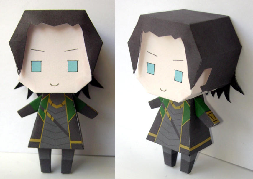 Loki Papercraft by FedeMidnight