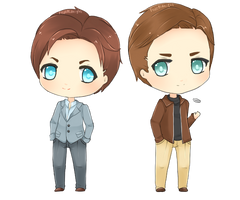 X-Men: Charles and Erik by FedeMidnight