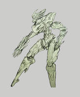 Mecha  weapon by NihoAme