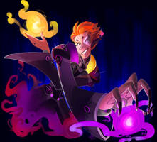 [OW] Moira painting by stellarknight3
