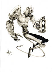 Mecha Marker Madness by Shadowgrail