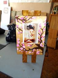decorative painting Sakura by Banzai-sk