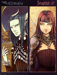 Astaroth x Seraphitah :: preview by LaDameDePique