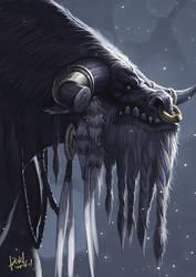 Cairne Bloodhoof by shawnfox520