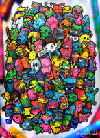 Doodle Monsters by LeiMelendres