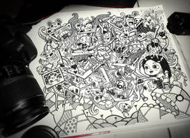 Doodle: A Photographer by LeiMelendres