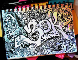Doodle: Thanks for 30k Views by LeiMelendres