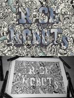 Hidden Doodles: Rise of the Robots by LeiMelendres