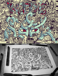 Hidden Doodles: Hide and Seek by LeiMelendres