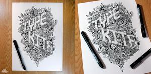 Type Kita Doodle by LeiMelendres