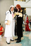 AX 2009: Cross and Komui by hayatecrawford