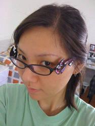 Cosplay: Bayonetta's Glasses by hayatecrawford