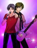 Atobe and Tezuka by hayatecrawford