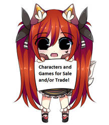 Characters and Games for Sale/Trade! by OrangeStar9