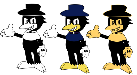 Original Casper Crow Color Variants by Gamerboy123456