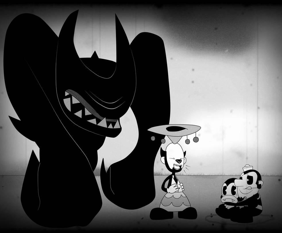 Edgar Spiderpants - Ink Beast Attack by Gamerboy123456