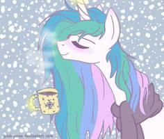 Snowfall by Pink-Pone