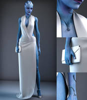 Liara - New Dress by AsariManiacs