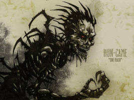 #31DaysOfMonsters Day 22: Hun-Came (One Death) by franciscomoxi