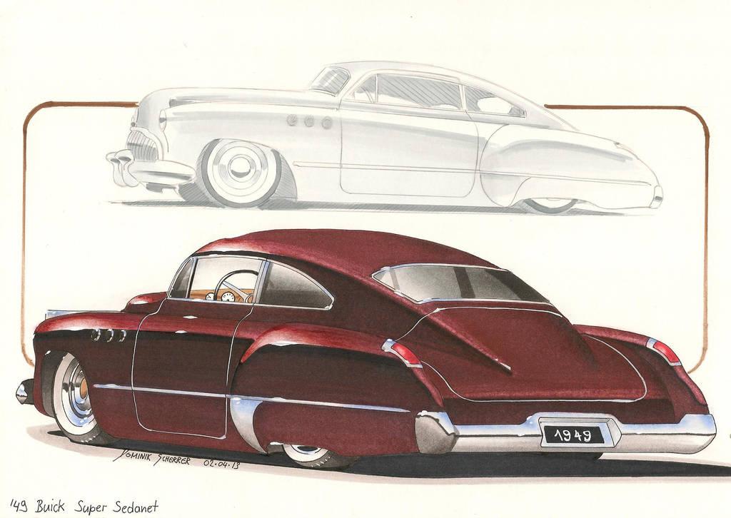'49 Kustom Buick by DominikScherrer
