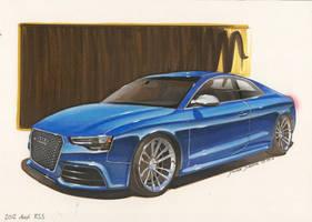 2012 Audi RS 5 by DominikScherrer