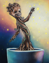 Commission: Baby Groot by ChalkTwins