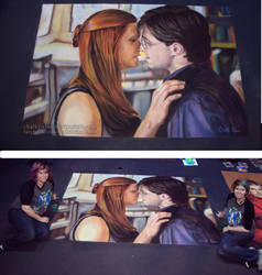 Harry and Ginny by ChalkTwins