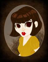 Amelie Portrait by Ceydran